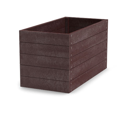 Material für Hochbeet 120x66x81cm (Länge x Breite x Höhe), braun