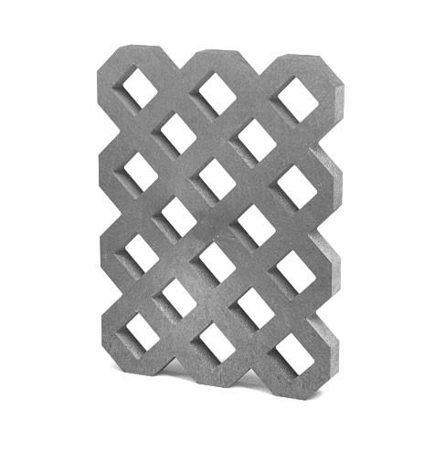 Zatravňovací dlažba VD800+, 80x60x6 cm, S