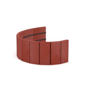 Palisáda 19x2,1x101,4 cm, cihlová
