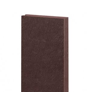 Brett mit Nut ohne Feder 132x32, 1,2 m, braun