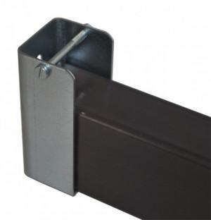 Riegelhalterung 75x35x30mm, verzinkt