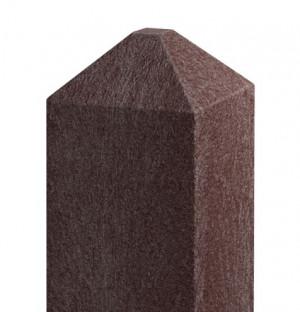 Balken 92x92, 2,0 m, diamant, braun