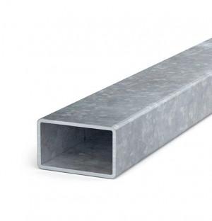 Zaunriegel 50x30x1,5 Länge bis 2 m, verzinkt