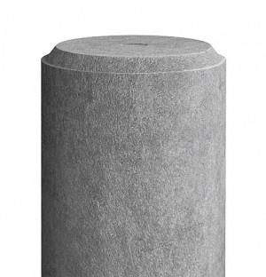 Pfahl Durchmesser 65mm, 1,6 m lang, grau