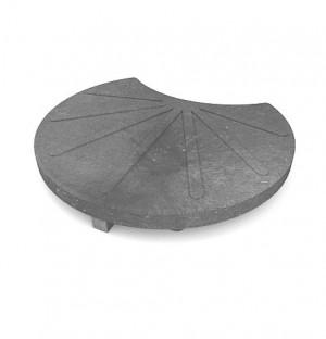 Gartentrittteil, Durchmesser 400, grau