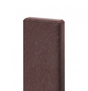 Bankbrett 120x50mm, 1,5 m lang, braun