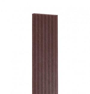 Terrassendiele, geriffelt 1500x140x30 mm, braun