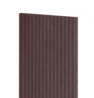 Terrassendiele, geriffelt 1500x330x30 mm, braun